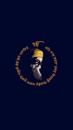 Guru Nanak Ji, Nanak Dev Ji, Hindu Quotes, Gurbani Quotes, Sai Baba Hd Wallpaper, Wallpaper Backgrounds, Guru Nanak Teachings, Baba Deep Singh Ji, Guru Nanak Wallpaper