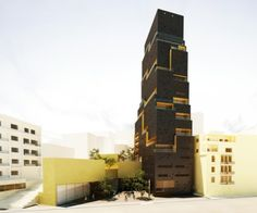 Tour Aya, Beyrouth, SOA Architectes - Projet en cours