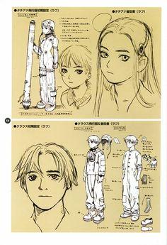 Last Exile Artbook Cap 01 pag 14 Range Murata, Character Concept, Character Art, Concept Art, Character Design Animation, Character Design References, Manga Anime, Anime Art, Last Exile