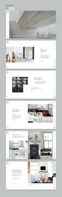 Es interesante el uso del espacio, la ubicación de los elementos, lo sutil y minimalista del diseño. #Webdesign