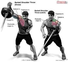 Total Body Power With Barbell Throws http://hiitfreak.com/recover-muscles-faster-after-workout/