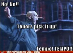 some conductors are like this...