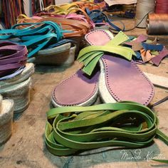 Elige la combinación de colores para tus sandalias mod.peregrinas