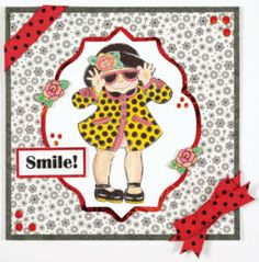 Smile! Girl Card