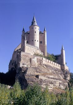 Alcazar de Segovia, Spain.  Go to www.YourTravelVideos.com or just click on photo for home videos and much more on sites like this.