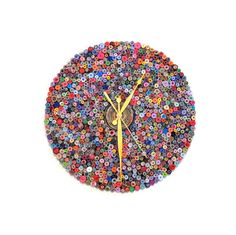 Smarty Iron Wall Clock Large Metal Wall Clock Colour Metal