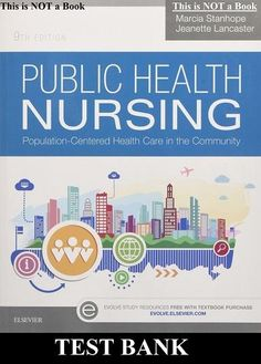 Test Bank Public Health Nursing Population Centered Health Care in the Community Edition by Marcia Stanhope Jeanette Lancaster - Testbankgala Community Health Nursing, Public Health, Health Care Policy, Coconut Health Benefits, Nclex, Health Promotion, 1, Lancaster, Health Tips