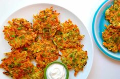 All you need is 25 minutes and a few simple ingredients for this quick-fix vegetable fritters recipe made with zucchini and carrots.