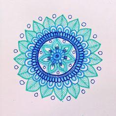 MagaMerlina: Another Mehndi Inspired Mandala Tutorial