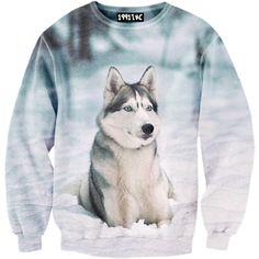 Snow Husky Sweater