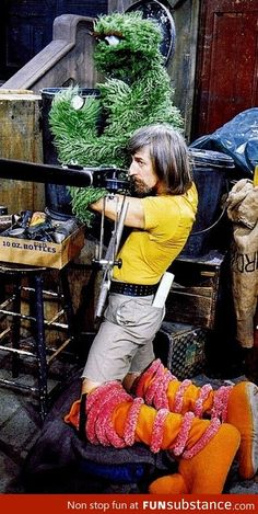 The genius that is Caroll Spinney.