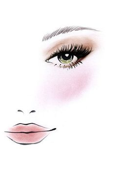 Stila Cosmetics Perfect Me, Perfect Hue Eye & Cheek Palette – Light/Medium Eyelash Logo, Makeup Illustration, Makeup Artist Logo, Makeup Drawing, Makeup Wallpapers, Stila Cosmetics, Lashes Logo, Summer Makeup Looks, Pencil Art Drawings