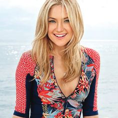 Kate Hudson Shares Her Secrets to Health and Happiness. I just adore Kate Hudson! Kate Hudson Hair, Taurus, Goldie Hawn, Hair Color And Cut, Good Hair Day, Famous Women, Hair Today, Most Beautiful Women, Beautiful Smile