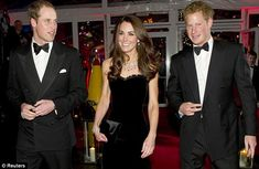 Happy family: Prince William and his wife Catherine, Duchess of Cambridge, will be living next door to Prince Harry in Kensington Palace.    Source: Reuters
