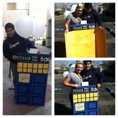 Fun way to ask your date to the dance! Especially if they Are a geeky Whovian!