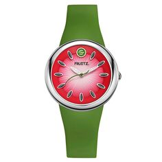 Watermelon Watch In Pink & Green -  Casey I pinned this for you.