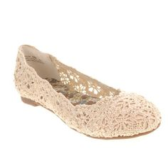 Bridal Flats and Low Heel Wedding Shoes