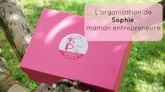 L'organisation de Sophie, Mompreneure et fondatrice de Beautiful Elles