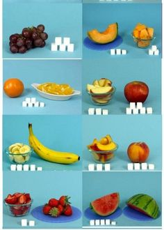 How much sugar is in your fruit Sugar Busters Diet, How Much Sugar, Sugar Free Diet, Sports Food, Eat Smart, Food Facts, Healthy Eating Recipes, Health And Wellbeing, Detox Drinks