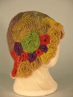 Crochet hat, Janet Lipkin