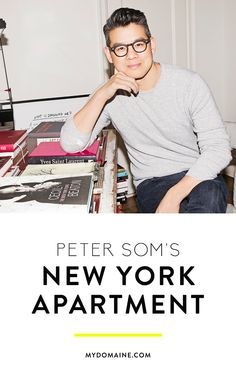Step inside the home of famous fashion designer, Peter Som