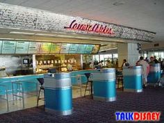 Cosmic Ray's Starlight Cafe in Magic Kingdom - another of Chris' favorites