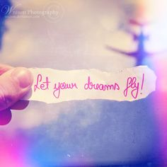 Let your dreams fly II by ~Wnison on deviantART Photoshop Actions, Dreaming Of You, Tattoo Quotes, Let It Be, Deviantart, Animals, Animales, Animaux, Literary Tattoos
