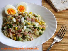 Insalata di riso della mamma, ricetta classica estiva
