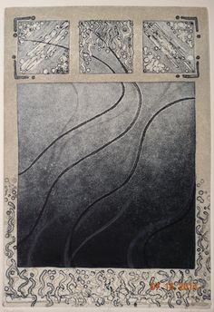 Vintage 1980's Art Print Confetti Print on Rag by TheIDconnection, $200.00