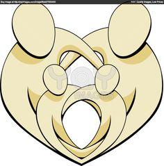 Family Symbols | Royalty Free Vector of Family Love Illustration