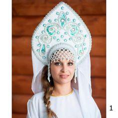 Kokoshnik tradicional ruso Nadezhda