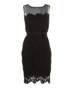 Black Pearl Silk Dress