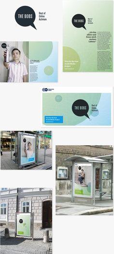 """Corporate Design """"The Bobs"""" Award für die Deutsche Welle Clinic Logo, Web Design, Creme Caramel, Design Studio, Corporate Design, Bobs, Pdf, Illustration, Wave"""