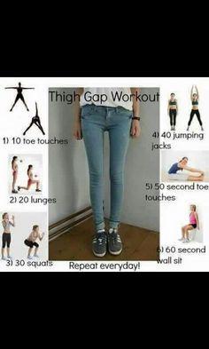 #thighgap #exercise