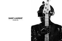 Daft Punk ( Thomas Bangalter et Guy Manuel de Homem Christo ) par Saint Laurent