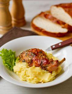 Кролик в горчично-медовом соусе