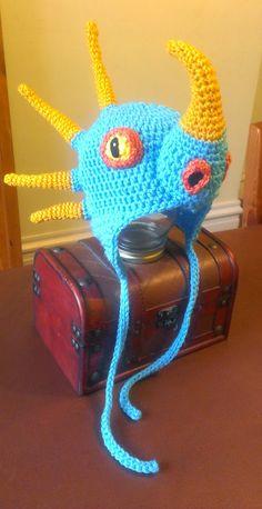 Sombrero de dragón inspirado por Stormfly por TheCrochetDisplay
