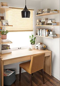The pure shape of the Rowan desk allows you to appreciate all its details. Oversized finger joint joinery highlights the artisan craftsmanship of the Vermont woodworkers who built it, and two sleek drawers conceal wire management holes to keep your desktop tidy.
