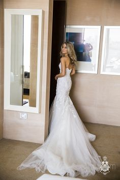 This Real Bride Went for Stunning Elegance in a Breathtaking Steven Khalil Gown