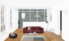 Heju – studio d'architecture parisien » APPARTEMENT ROME