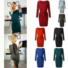 MOUTEN Womens Dress Long Sleeve Irregular Midi Pullover Hoodies Sweatshirt