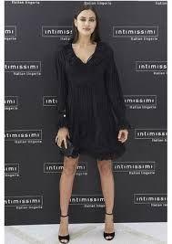 Resultado de imagem para irina shayk black and white dress