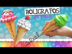 Do you like the Ice Cream? Today we show you how to make 3 different pencil using foamy. jejeje but these are not edible, we hope you enjoy t. Easter Arts And Crafts, Diy Arts And Crafts, Valentine Crafts, Spring Crafts, Foam Crafts, Easy Diy Crafts, Diy Ice Cream, Diy Back To School, How To Make Slime