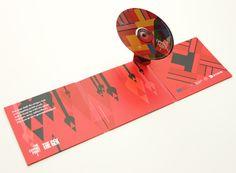 Pop-up CD case