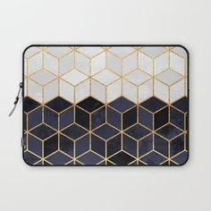 Check out society6curated.com for more! I am a part of the society6 curators program and each purchase through these links will help out myself and other artists. Thanks for looking! @society6 #abstract #laptop #computer #case #sleeve #electronic #accessory #accessories #fashion #style #student #college #gift #idea #fun #unique #art #artsy #design #cool #awesome #buyart #artforsale #navy #white #cubes #geometric #geometricart #coolart