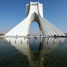 architectureland:  azadi tower in tehran, iran (by mooon2)