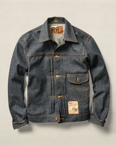 Cowboy Selvedge Denim Jacket - RRL Lightweight & Quilted  - RalphLauren.com