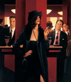 Jack Vettriano Games of Power oil painting for sale