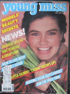 May 1982 cover with Christine Brett