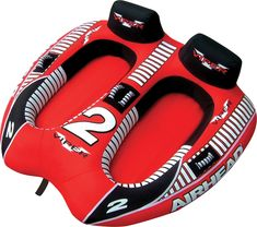 AIRHEAD Viper 2 Double Rider Cockpit Inflatable Towable Lake Water Tube for sale online Inflatable Float, Water Tube, Lake Water, Water Ski, Boater, Wakeboarding, Rafting, Outdoor Gear, Outdoor Toys